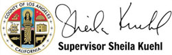 la county sheila kuehl logo
