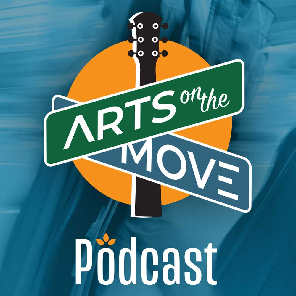 Arts on the Move Podcast square image