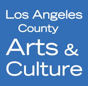 Los Angeles County Arts & Culture blue logo