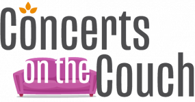 Concerts on the Couch header logo