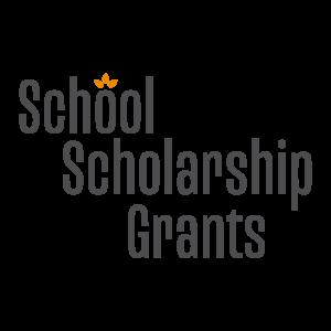 School Scholarship Grants logo in square space
